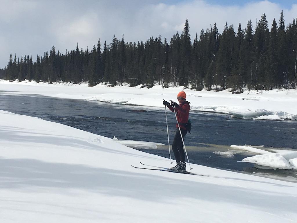 Alleinsein Skifahren