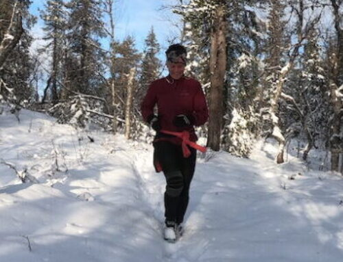 Winter running in the Arctic