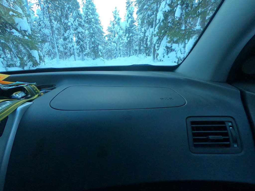 view from side seat
